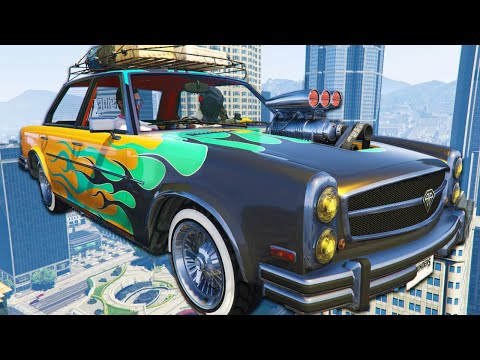 I Bought The Harry Potter Car - GTA Online Summer Special DLC