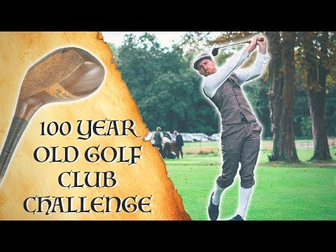 WHAT WAS GOLF LIKE 100 YEARS AGO?!
