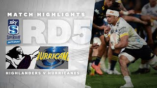 Highlanders v Hurricanes Rd.5 2021 Super rugby Aotearoa video highlights