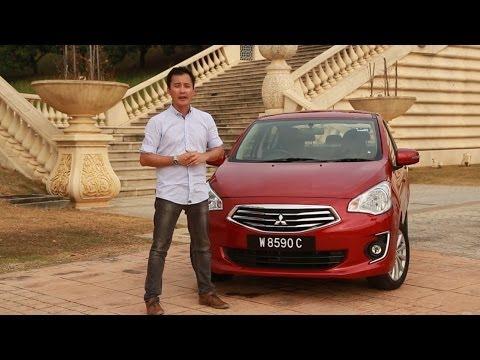 車を借りる Mitsubishi Attrage (2014) 動画