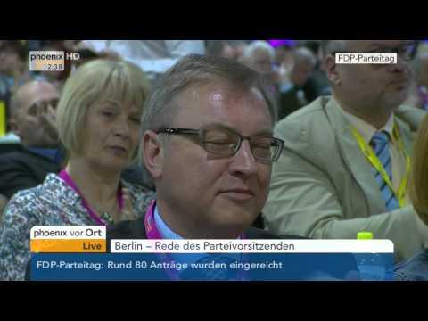 Christian Lindner / FDP: FDP-Parteitag - Rede des Par ...