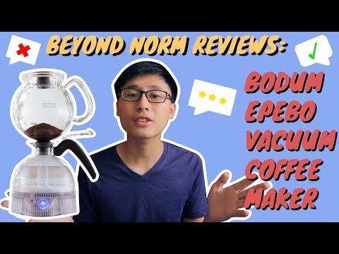 #BeyondNormReviews: Bodum ePebo Vacuum Coffee Maker