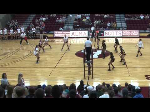 Alma College Volleyball 9/9/11 & 9/10/11