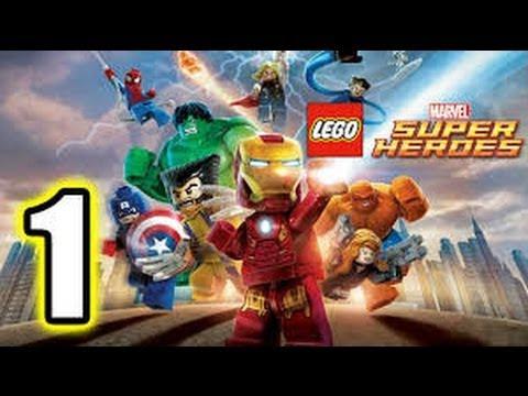 Lego Marval SuperHeroes Walkthrough Part 1