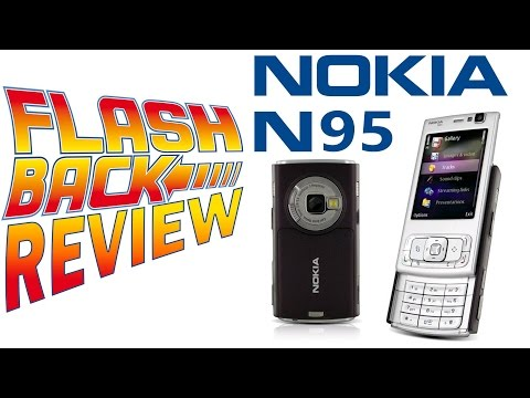 Celular Nokia N95 Mobile Smartphone Flash Back Review