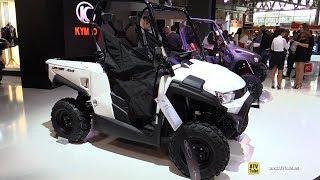 6. 2017 Kymco UXV 450 Utility ATV - Walkaround - 2016 EICMA Milan