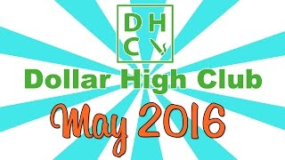 DOLLAR HIGH CLUB UNBOXING! (May 2016) by Strain Central