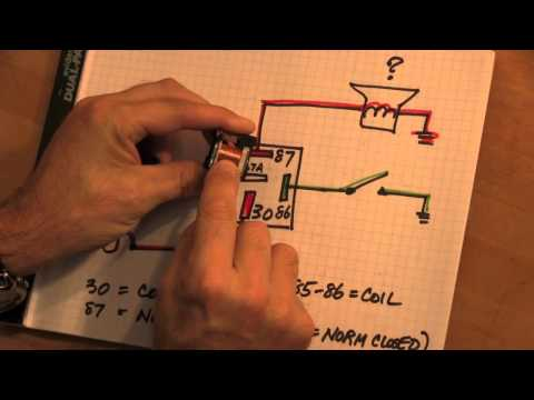 relay - If you've ever wondered what a relay is and how it works, this is the video you've been hoping for... Other information about the FET book is at http://www.b...
