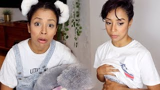 Download Youtube: PREGNANT LOOKING?! ASKING MY YOUNGER SELF