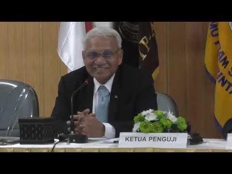 Direktur Utama PT KBN Persero HM Sattar Taba Raih Gelar Master Ilmu Pemerintahan