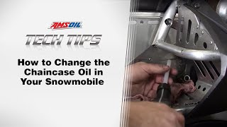 10. AMSOIL Tech Tips: Changing the Chaincase Oil in your Snowmobile