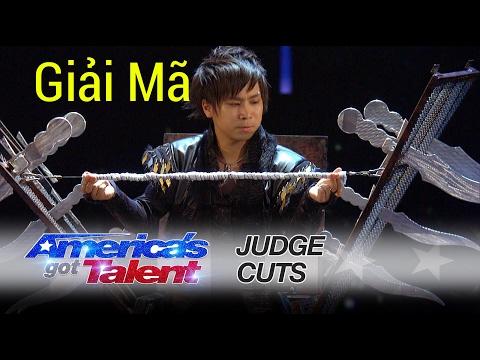 Giải mã ảo thuật thoát khỏi hộp dao cấp tốc của 'Hara' tại America's Got Talent