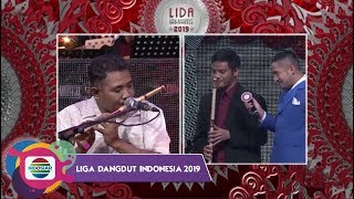 Video KEREEN!! Battle Permainan Suling Ayah Findi dengan Pemain Angsul LIDA Band | LIDA 2019 MP3, 3GP, MP4, WEBM, AVI, FLV Januari 2019