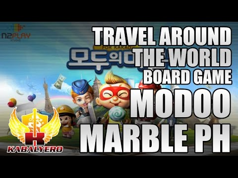 Modoo Marble Philippines ★ Travel Around The World ★ Board Game ✔✔
