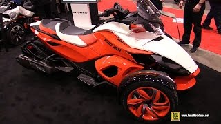 9. 2015 Can-am Spyder ST-S - Walkaround - 2015 Toronto Motorcycle Show
