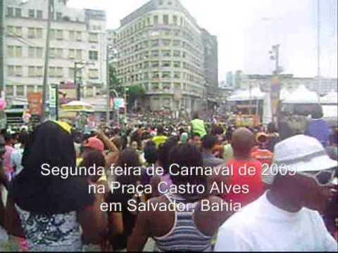 Chiclete com Banana e Banda Eva na Praça Castro Alves em Salvador, Bahia no Carnaval 2009