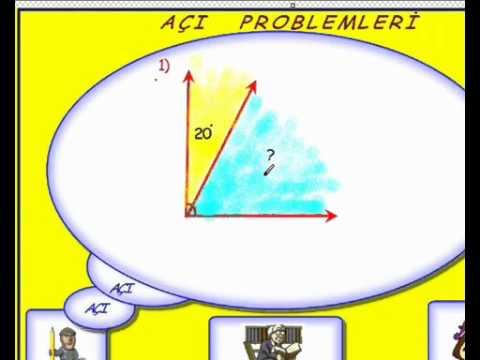 0 Açı ve Açı Problemleri
