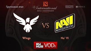 Wings vs Na'Vi, game 2