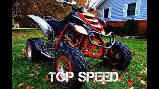 3. Yamaha Raptor 660 Top Speed
