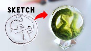 Video How to make a Resin Dinosaur Egg Embryo! MP3, 3GP, MP4, WEBM, AVI, FLV Mei 2019