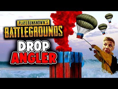 Die Drop Angler - Playerunknowns Battlegrounds - Deutsch German - PUBG