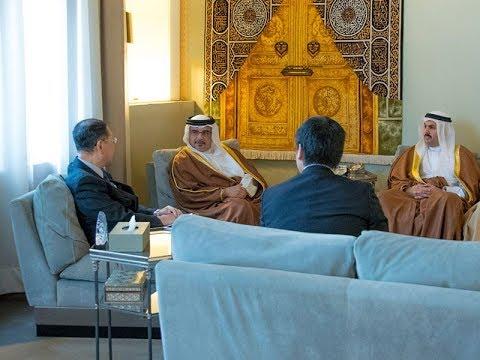 سمو ولي العهد يستقبل السفير الياباني بمناسبة انتهاء فترة عمله