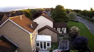 Parrot AR Drone 2.0 Elite edition raw Video footage