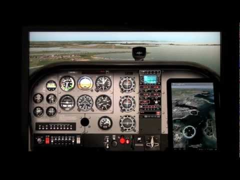 Video of X-Plane to GPS