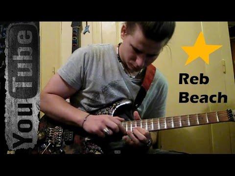 "Reb Beach ""Black Magic"" 2015 HD - cover by Simon Borro"