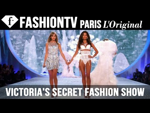 victoria's - Victoria's Secret Fashion Show 2013 2014 ft HD ft Taylor Swift NEW YORK - The Victoria's Secret Runway Angels were joined on stage by Taylor Swift, Fall Out Boy, Neon Jungle and A Great Big...
