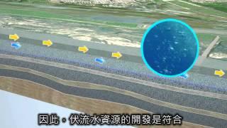 高屏溪伏流水3D模型說明