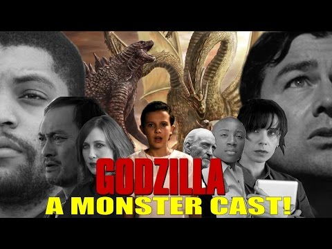 A MONSTER CAST! Godzilla 2: King of the Monsters Update!