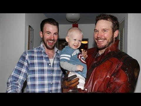 Celebrities Surprise Sick Children With Heartwarming Visits