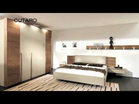 Мебель для спальни Cutaro от Hulsta
