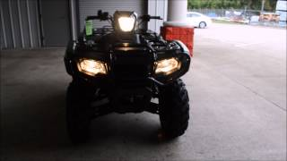 8. 2015 Foreman Rubicon 500 Start Up / Walk Around Video : TRX500FM5F Honda of Chattanooga TN GA AL