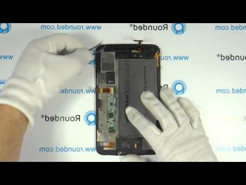 Samsung Galaxy Tab 3 (7.0) WiFi SM-T210 repair, disassembly manual, guide