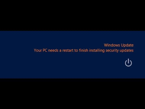 How to disable automatic restarting in windows 7 and vista ( 69th video special )
