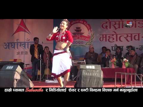 (टिका जैसीले स्टेजमै कपडा खोले पछि दर्शकलाई गह्रो भयो | Model & Dancer Tika Jaish |gaidakot mahotsabi - Duration: 5 minutes, 30 seconds.)