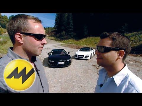ABT - Welcher Tuner holt mehr aus dem Audi R8 raus: Abt Sportsline oder MTM? Patrick Simon und Meci machen den Test.