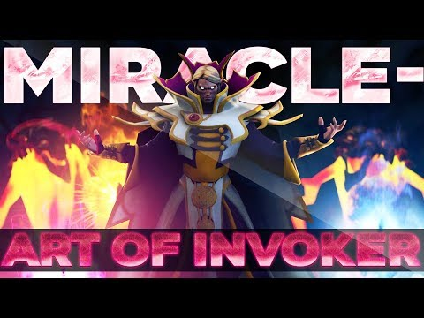 The Art Of Invoker By Liquid.Miracle- - EPIC Gameplay Compilation Dota 2