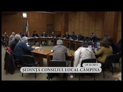 Sedinta ordinara a Consiliului Local Campina din luna octombrie 2015 – partea a II-a