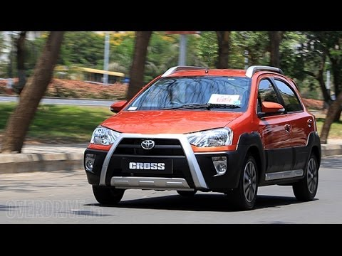 2014 Toyota Etios Cross India first drive