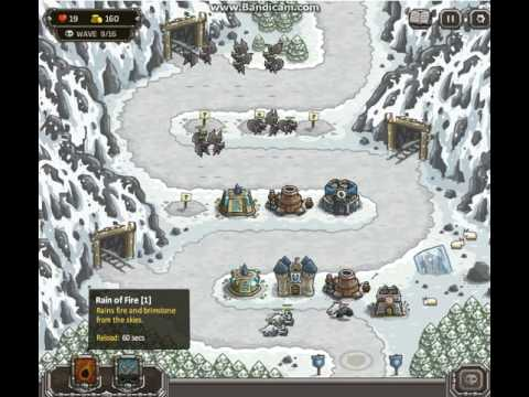 kingdom rush level 7 the ice zone