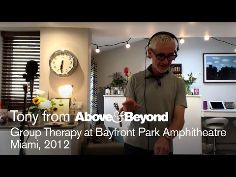 A&B @ Group Therapy Miami 2012: Recreated by Tony McGuinness - livestream trance classics DJ set