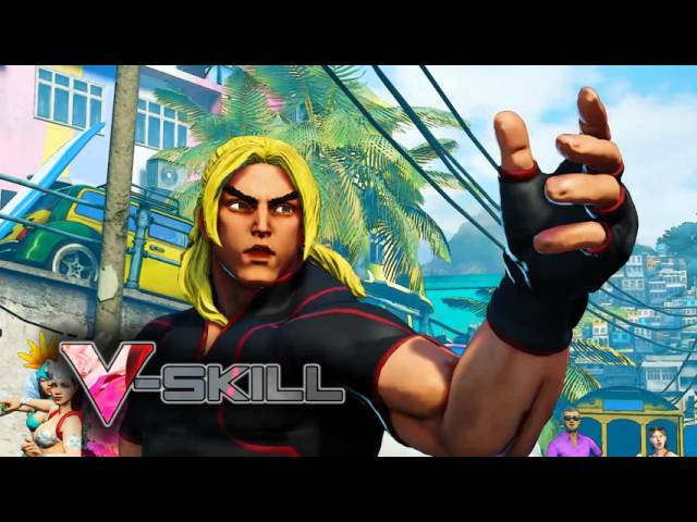 Видео к игре Street Fighter 5 (V)