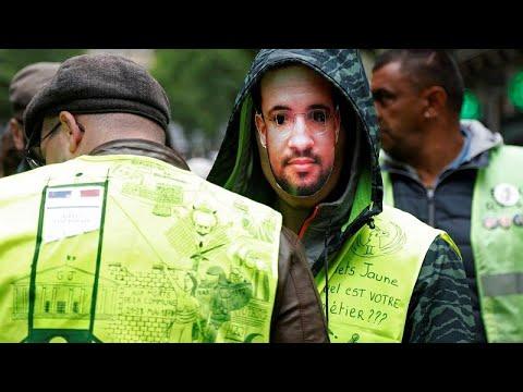 Frankreich: Gelbwesten mit großen Demonstrationen i ...