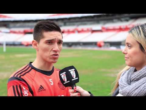 Mat�as Kranevitter palpit� la final de la Copa Libertadores