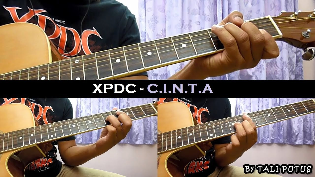 Xpdc – C.I.N.T.A (Instrumental/Full Acoustic/Guitar Cover)