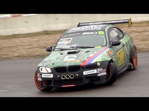 bmw m3 e92 amazing drift & sound