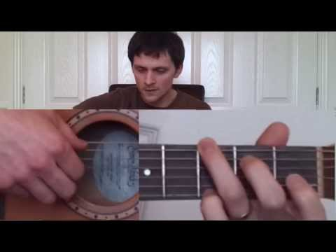 How To Play Girl From The North Country - Bob Dylan (guitar lesson / tutorial)